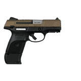 Ruger SR9 Compact Pistol 9mm 3.5in 10rd 17rd Burnt Bronze - 3342