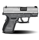 "Springfield Armory XD-9 3"" SubCompact 9mm Bi-Tone Pistol Essentials Kit XD9821HC"
