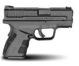 Springfield Armory XD40 Mod 2 40 S&W Subcompact Handgun - 3 inch barrelXDG9802HC