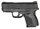 Springfield XDS 3.3 Single Stack 45ACP Black with Notebook XDS93345BEN