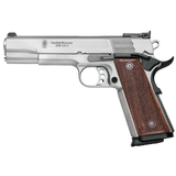 "Smith & Wesson 1911 Pro Single 9mm 5"" 10+1 Wood grip, Stainless - 178047"