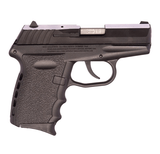 """SCCY Industries CPX-2 CB Black Frame 9mm 3.1"""" Barrel CPX2CB"""