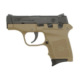 "Smith & Wesson M&P Bodyguard, .380 ACP, 2.75"", FDE Frame, 6rd, NO LASER - 10167"