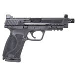 Smith & Wesson M&P45 M2.0 Pistol 45 ACP, 5.1 Threaded Barrel, Black Finish, Tall White-Dot Sights, Two 10rd Mags - 11771