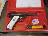 2002 Ruger NRA Endownment Mark II .22cal Pistol w/Box Mint and Unfired NRA Ruger - 1 of 6
