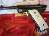2002 Ruger NRA Endownment Mark II .22cal Pistol w/Box Mint and Unfired NRA Ruger - 5 of 6
