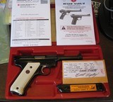 2002 Ruger NRA Endownment Mark II .22cal Pistol w/Box Mint and Unfired NRA Ruger - 3 of 6