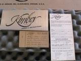 Kimber of Oregon M-82 Brownell 22LR NIB - 9 of 10