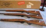 Kimber of Oregon M-82 Cascade 3 Rifle Set NIB Same two digit serial numbers