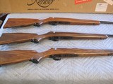 Kimber of Oregon M-82 Cascade 3 Rifle Set NIB Same two digit serial numbers - 5 of 7