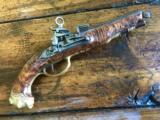 High Art Spanish Miquelet pistol 1680-1727