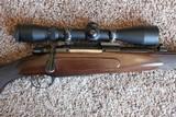 Custom Mauser 98 45-70 mannlicher stock beautiful walnut - 2 of 11