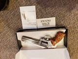 Smith and Wesson model 648 no dash 22 magnum in original box - 5 of 9