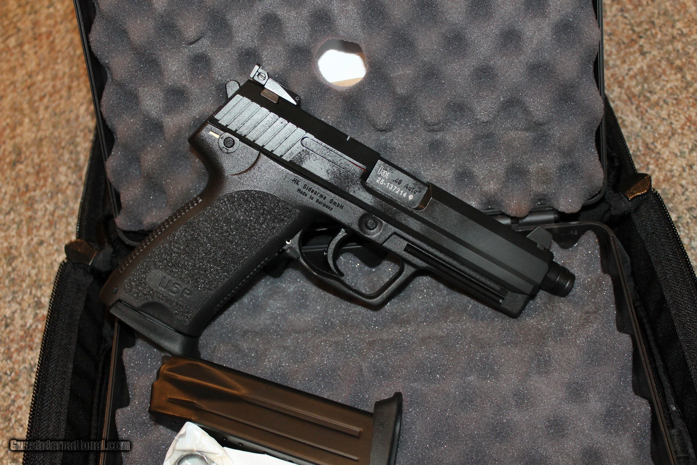 HK Heckler & Koch USP Tactical 45acp NIB with case with