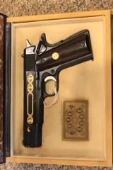 colt model 1911 series 70 ohio presidents commemorativeNIB
