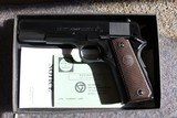 1969 Colt commercial 1911 .45 acp Blue NIB