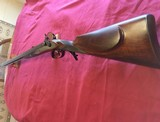 African Dangerous Game Double Barrel Percussion Rifle
