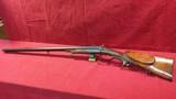 Double Barrel Cape Gun, Combination Shotgun & Rifle