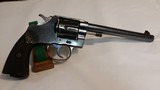 Colt New Service 45 Colt, 6-Shot Double Action Revolver – Very Good