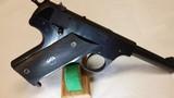 High Standard HB Post-War Model, 22 CAL Semi-Auto Pistol – Excellent