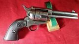 Colt SSA Model, 32 WCF 6-Shot Single Action Revolver – Great Grandfather's