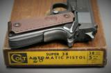 COLT, Super 38 AUTOMATIC PISTOL