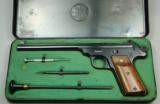 S&W,Straight Line Target Pistol,