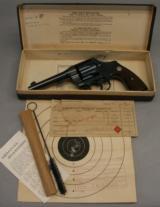 """COLT, New Service Revolver, Rare 5"""" x .38,w/ Box +"""