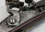 """English Flint Lock Light Dragoon, 18th C., """"BRASHER"""" - 19 of 20"""