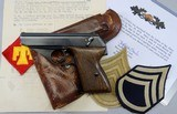 MAUSER HSc, NAZI ARMY E/135 mark, with History, c.1943, SN: 774762