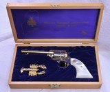 Colt Maine Sesquicentennial Scout, Cased, Un-Fired, .22 Cal, Mfg'd in 1970, w/ Lobster