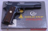 COLT, National Match, Gold Cup, Mfg'd 1969, SN: 35649 NM - 5 of 20