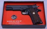COLT, National Match, Gold Cup, Mfg'd 1969, SN: 35649 NM - 2 of 20