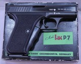 HK P7, As New, Collector Grade, Boxed w/ 2 Mags. 9mm, c.1981