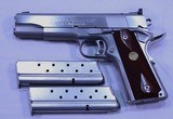 Colt Delta Gold Cup National Match, Stainless, 10mm, 3 Mags.