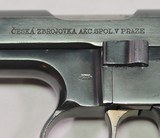 Czechoslovakia, CZ-38, .380 D. A. only Semi Auto Pistol, NAZI use, Excellent Condition - 7 of 20
