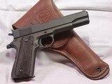 Remington Rand, M1911 A1, 1943 Gun, U.S. PROPERTY, All Original, Exc. Cond.
