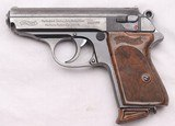 Walther, PPK, Early First Year Prod'n. c.1930, Very Good Condition