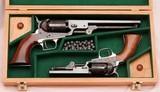 Colt Presentation Set, M1851 & M1849. Made for Colt's Chairman