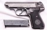 J.P. Sauer & Sohn, Model 38H, Nazi Commercial E/N, .32 ACP - 2 of 15
