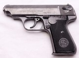 J.P. Sauer & Sohn, Model 38H, Nazi Commercial E/N, .32 ACP - 1 of 15