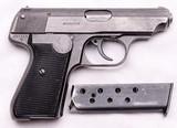 J.P. Sauer & Sohn, Model 38H, Nazi Commercial E/N, .32 ACP - 8 of 15