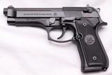 """Beretta, M9, New & Unfired, 9mm x 4.9"""" Barrel, c.2011"""