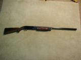 SCARCE ITHACA MODEL 37R DELUXE 12 GA. PUMP SHOTGUN, MADE 1956