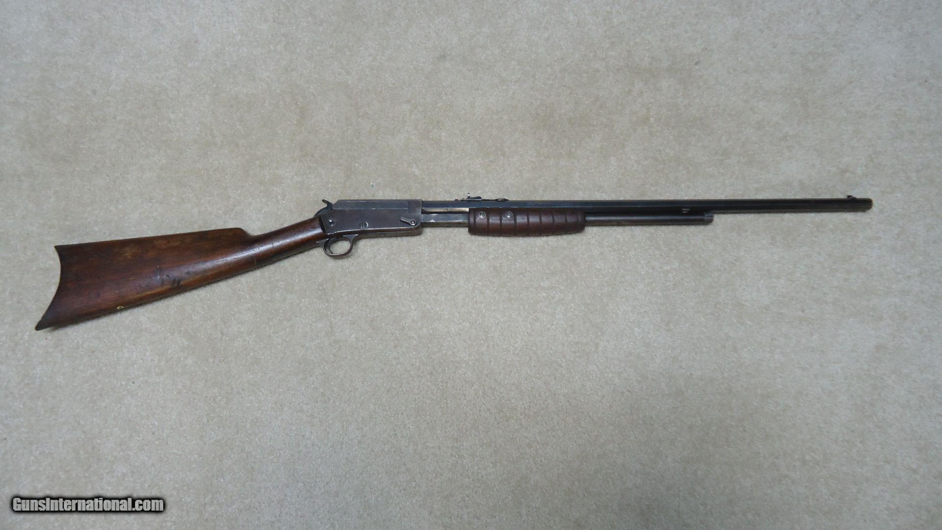 MARLIN MODEL 27-S .25-20 OCTAGON PUMP ACTION RIFLE