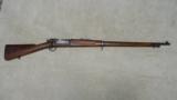 UNUSUAL 1898 KRAG RIFLE, #239XXX, MADE 1899 WITH FANCY WALNUT