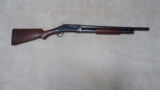 EXCELLENT CONDITION EARLY 1897 12 GA. TAKEDOWN RIOTGUN, MADE 1926
