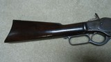 "INTERESTING AND UNUSUAL 1873 .44-40 CALIBER 20"" OCTAGON BARREL FACTORY SHORT RIFLE WITH HISTORY - 7 of 18"