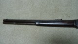 "INTERESTING AND UNUSUAL 1873 .44-40 CALIBER 20"" OCTAGON BARREL FACTORY SHORT RIFLE WITH HISTORY - 11 of 18"