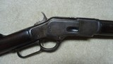 "INTERESTING AND UNUSUAL 1873 .44-40 CALIBER 20"" OCTAGON BARREL FACTORY SHORT RIFLE WITH HISTORY - 3 of 18"
